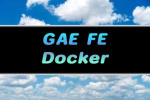 【GCP】GAE FEにDockerで開発したアプリをデプロイする際の注意点